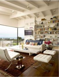I die for modern furniture and oriental rug combos / For ...