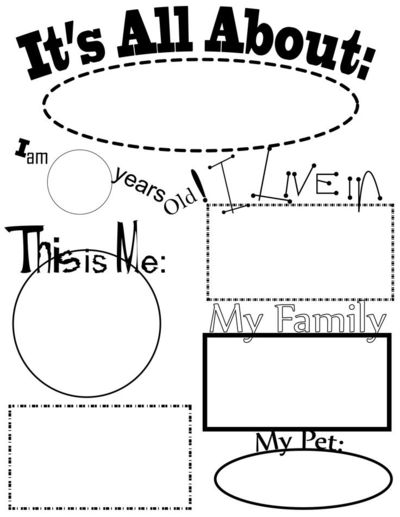 All About Me Activities. All About Me theme. / Preschool