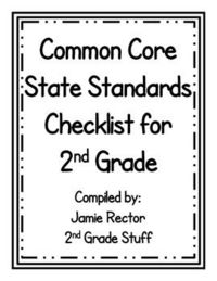 I compiled this document from the Common Core State