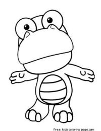 activities, cartoon, coloring pages, Crong, Disney