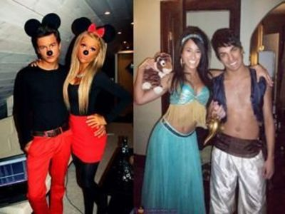 easy homemade halloween costumes for couples cos