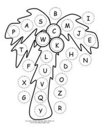 ABC Chicka Chicka Boom Boom Letter Assessment activity