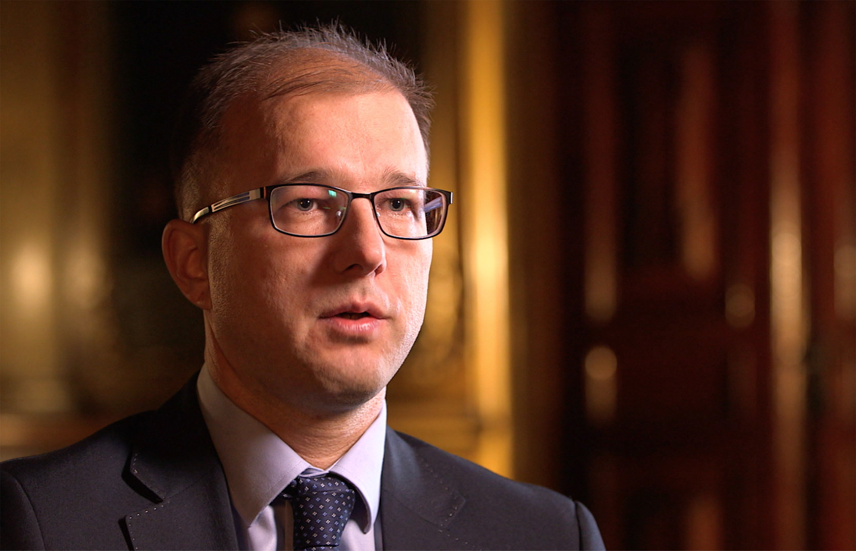 Dr. Piotr Dardzinski, interviewee on John Paul II: Liberating a Continent, the fall of communism.