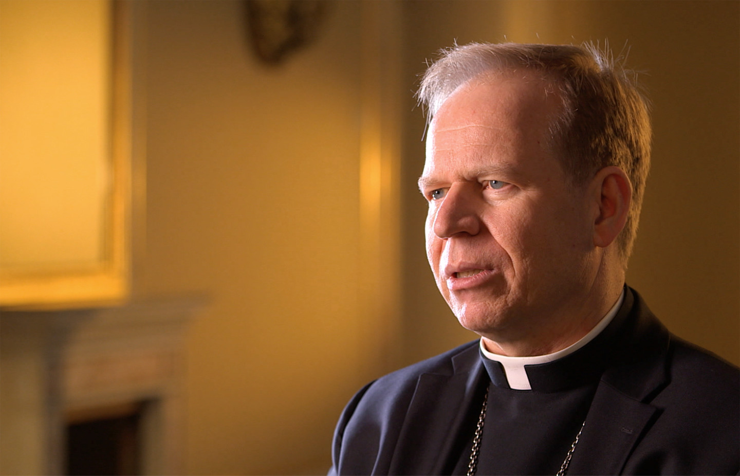 Rev. Gintaras Grusas, interviewee on John Paul 2: Liberating a Continent, the Fall of Communism.