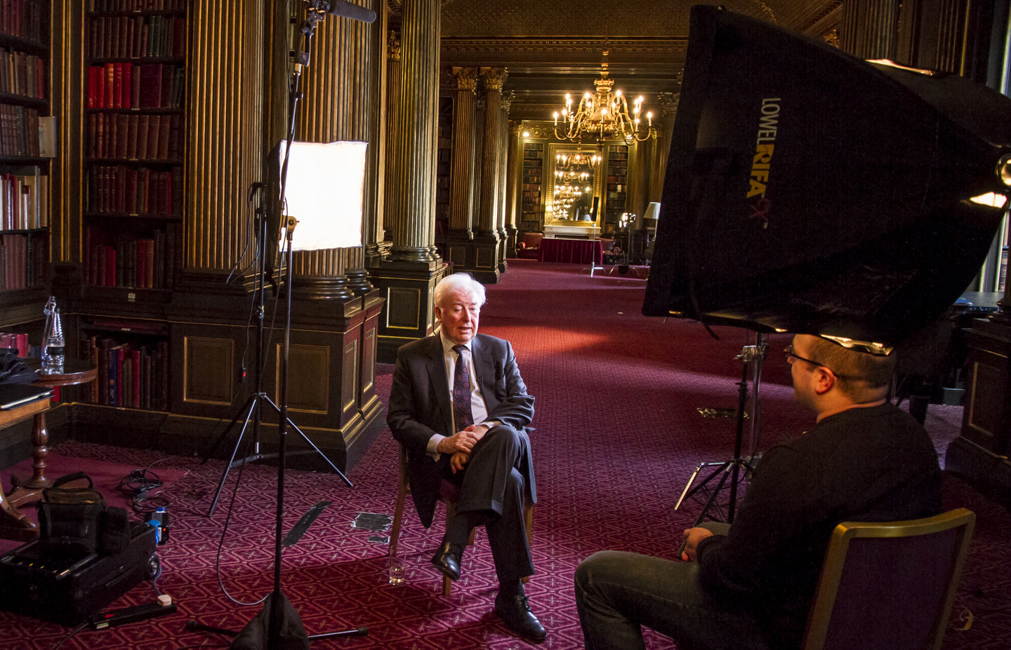 We had the privilege of interviewing John O'Sullivan, author of the The Pope, the President and the Prime Minister at the famed Reform club in London. This was the filming location for the iconic James Bond sword fight depicted in Die Another Day.
