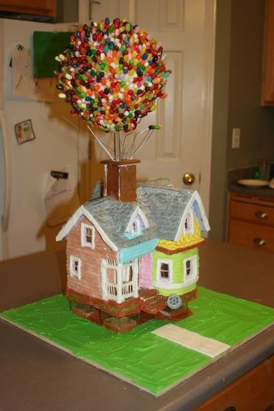 "Up"" Gingerbread House Theme Parks I Love Juxtapost"