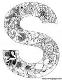 Posts similar to: Animal alphabet letters to print and