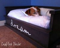 Woodwork Build Dog Bed PDF Plans