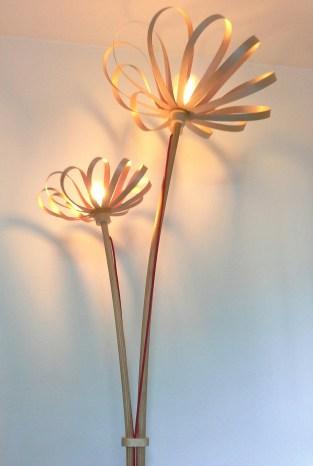 Lamp.pie Flowers arce jp.4artwood.
