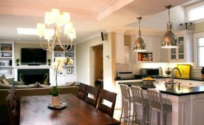 Small Living Room Kitchen Dining Room Combo For The