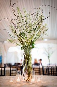 Posts similar to Curly willow branch and flower stalk wedding centerpieces    Juxtapost