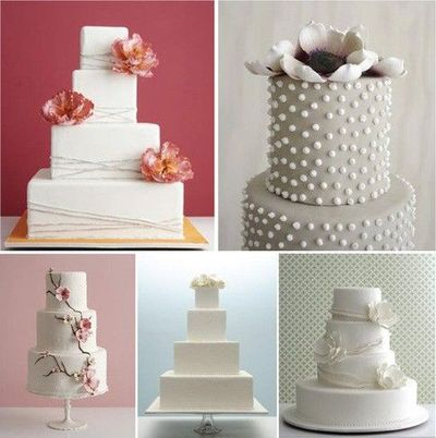 A Slew Of Simple Yet Elegant Wedding Cake Designs By The Cak