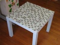DIY tile table top / For the home - Juxtapost