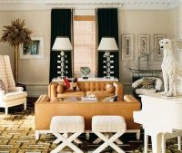 caramel leather sofa / For the home - Juxtapost