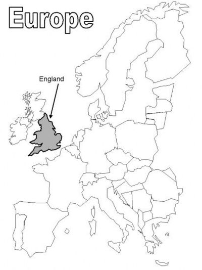 Free coloring pages of map of eastern europe
