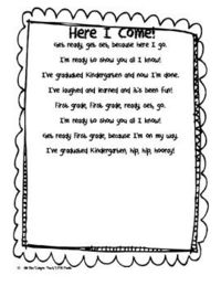 Hello Kinder Friends. This is a poem I have made for my