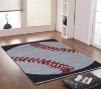 Baseball rug / kids rooms - Juxtapost