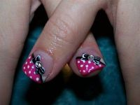 Minnie Mouse - Cute design for toes #nails #toes / Theme ...