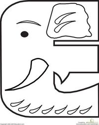 Color the Animal Alphabet Fun alphabet coloring pages