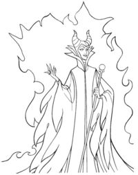 disney villains coloring pages / wonderful world of disney