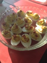 "Every year I am put ""Deviled Egg Duty""."