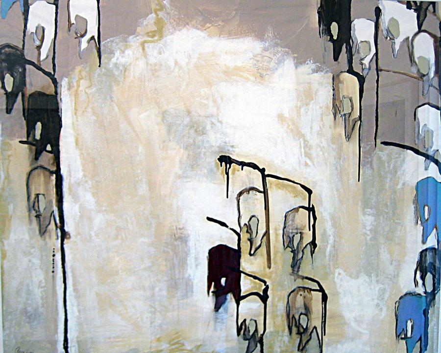 Twenty-One mixed media on vellum (2007) artist: J.Paradisi