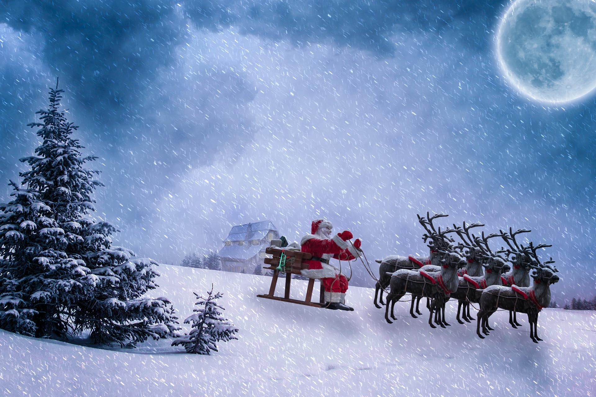 Why Did Santa Chose Female Reindeer To Help Him Deliver