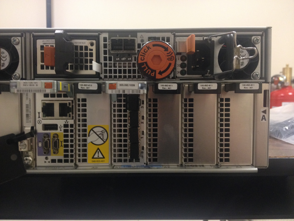 Hands On With The New Emc Vnx5400 Justin S It Blog
