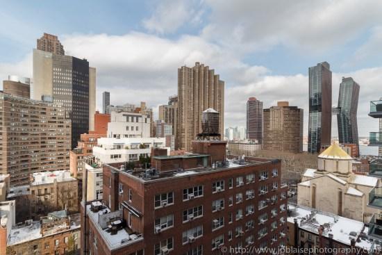 Apartment Photographer New York photoshoot one bedroom condo unit Midtown East ny nyc balcony