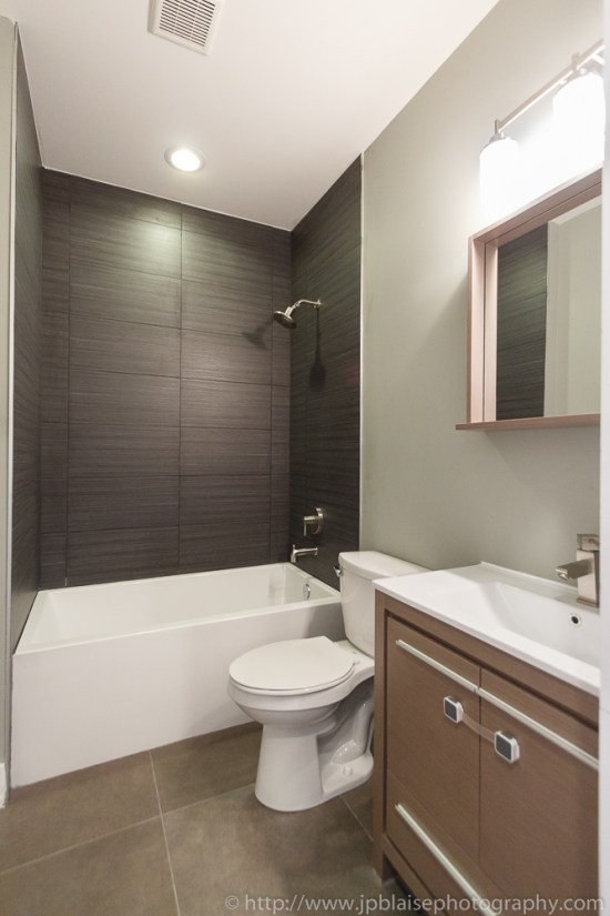 Apartment photographer work: bathroom on 2nd floor