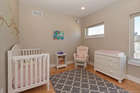 Interior photography session : Child bedroom on second floor