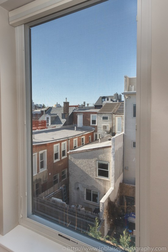 Interior photography session : View from bedroom on 2nd floor