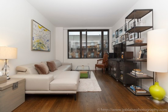 Apartment photographer real estate interior condo one bedroom east village living