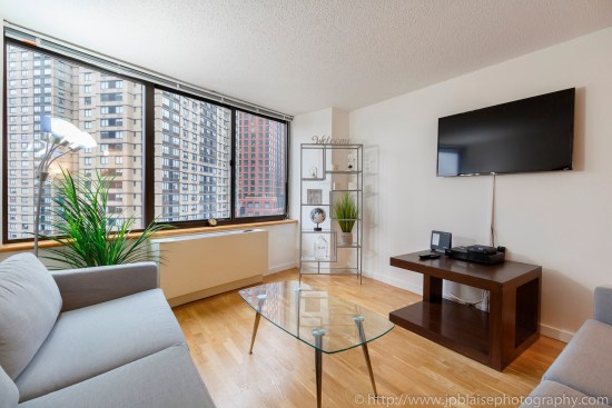 Apartment photographer real estate interior nyc ny new york Upper East Side condo TV
