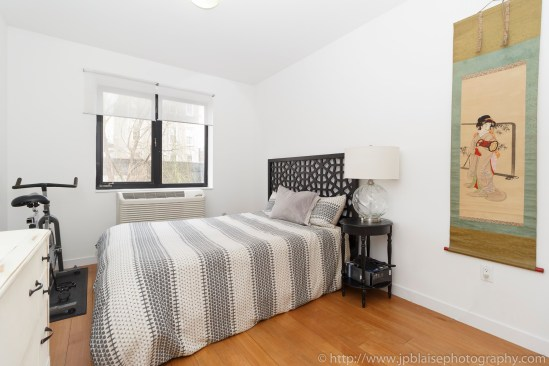 Apartment photographer williamsburg real estate interior bedroom bed