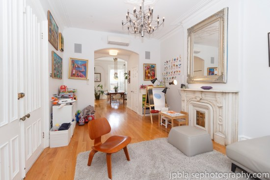 Brooklyn apartment photographer new york bed stuy real estate living room