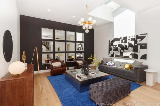 Brooklyn apartment photographer new york interior real estate duplex nyc ny living room