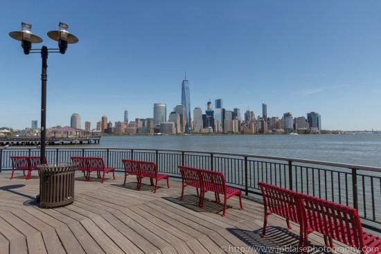 Interior photographer work manhattan views from New Jersey waterfront