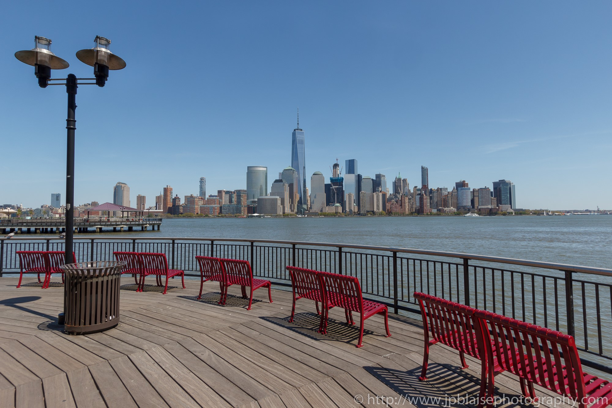 New York City Views From New Jersey Rivers Banks Part 1