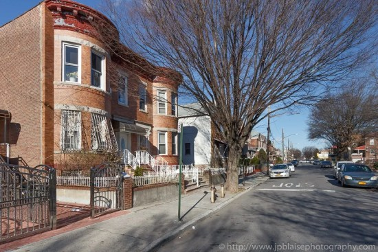New York Apartment photographer work: picture of a street in East Flatbush, Brooklyn