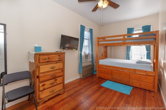 Apartment photographer work: picture of a bedroom of an apartment in East Flatbush, Brooklyn, New York City