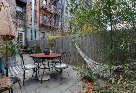 Outdoor space of 2 bedroom apartment in the East Village of New York City