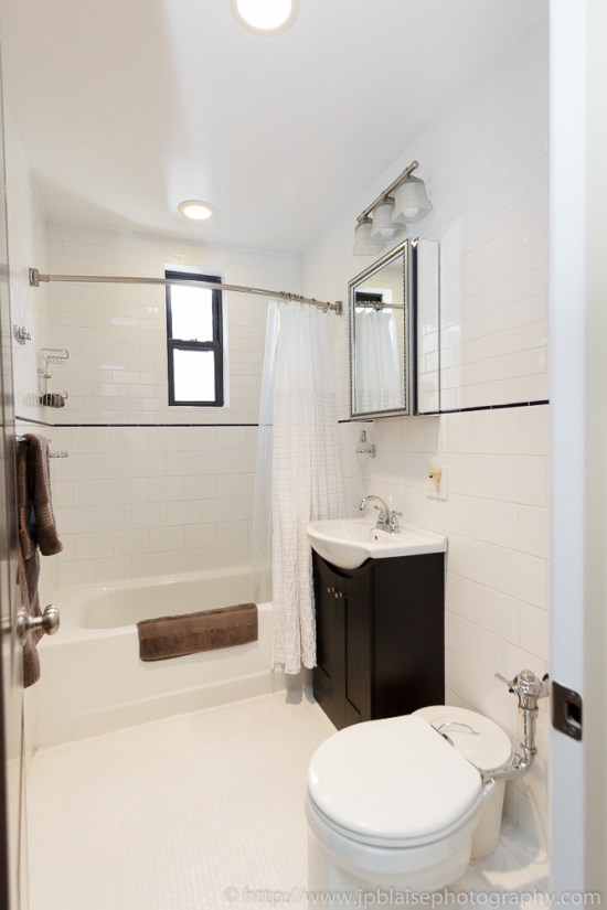 Bathroom of three bedroom / 2 bathroom in Brooklyn Heights, NY