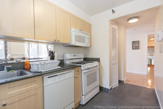 Latest NYC interior photographer work two bedroom two bathroom in Midtown East, Manhattan - picture of Kitchen