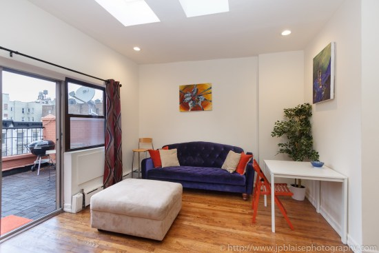 living room apartment photographer new york two bedroom in hells kitchen manhattan