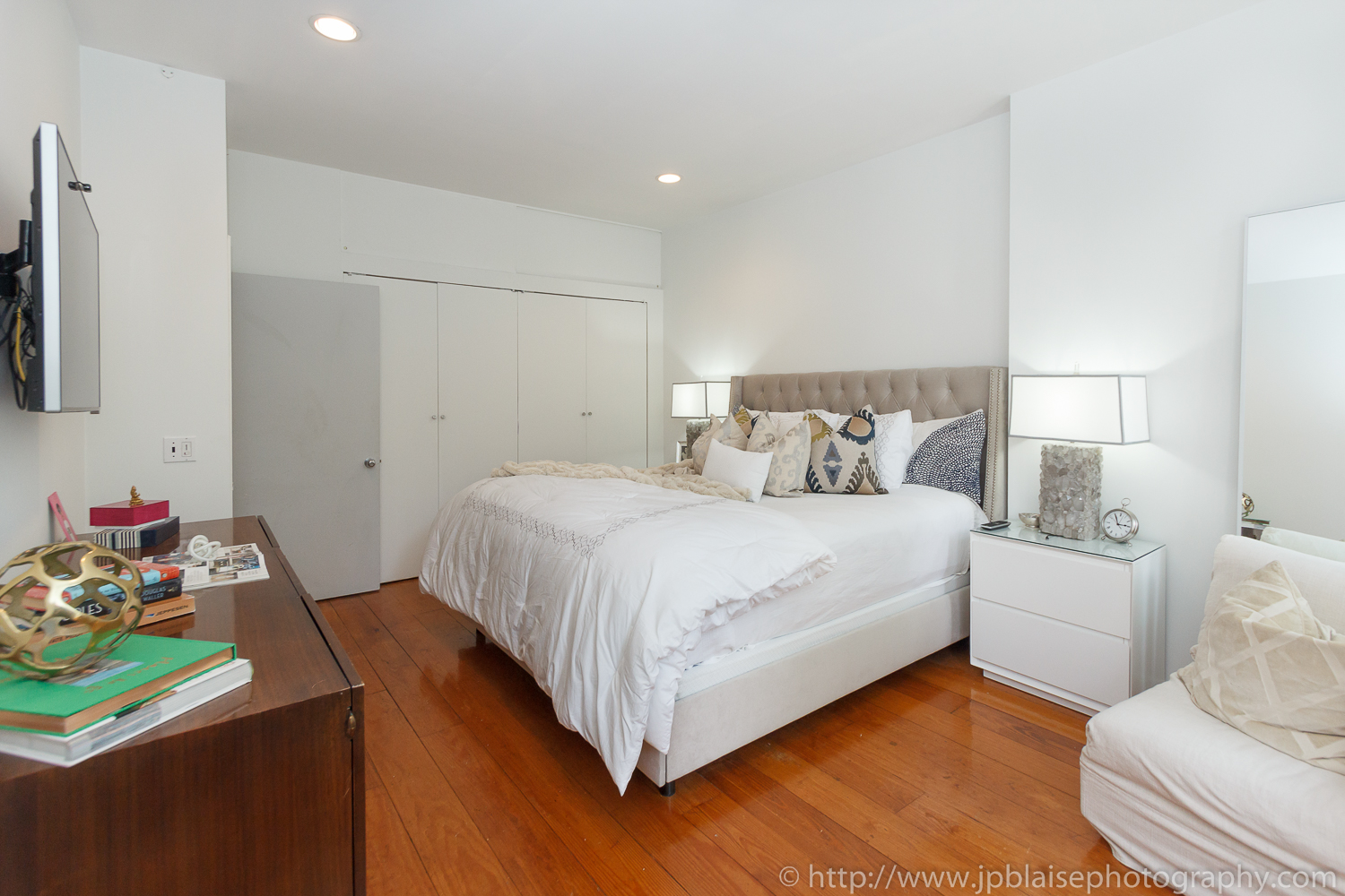Master bedroom real estate photography chelsea two bedroom - Two bedroom apartment new york city ...