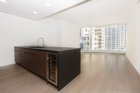 NY apartment photographer one bedroom battery park city manhattan new york city living room
