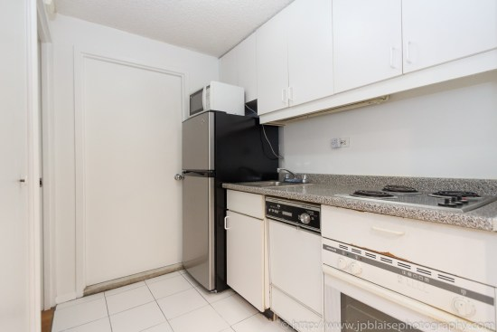 NY apartment photographer one bedroom midtown Manhattan kitchen