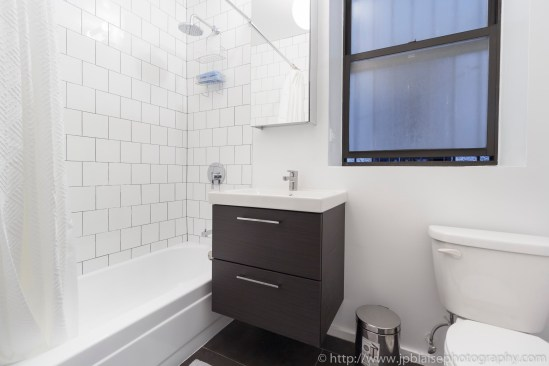 NY apartment photographer real estate interior Harlem bathroom