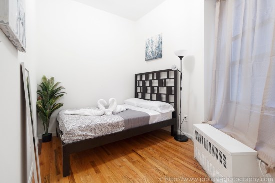 NY apartment photographer real estate interior Harlem bedroom